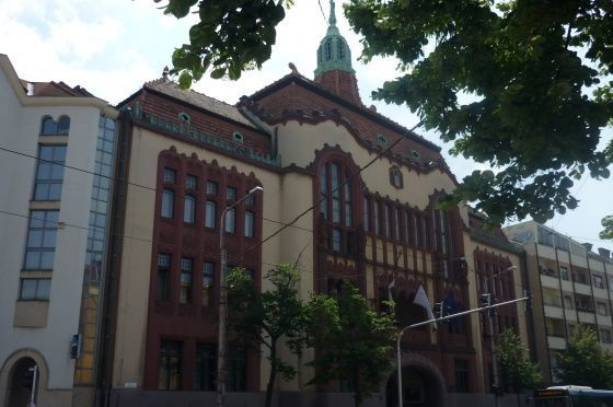Megyeháza, Debrecen