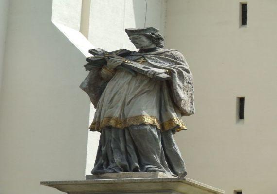 Nepomuki Szent János szobra, Kaposvár