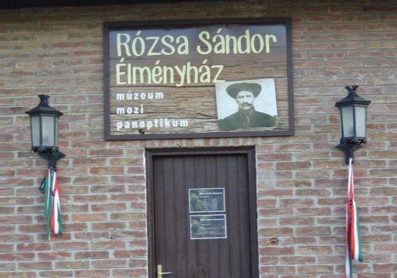 Rózsa Sándor Élményház, Ásotthalom